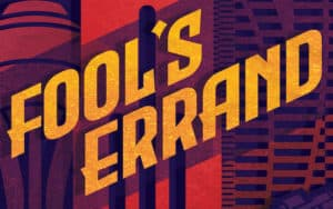 Fools Errand by Jeffrey Stephen book cover Image