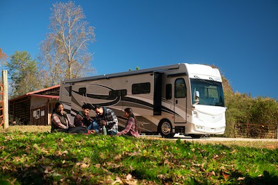 Presidential Road Trips in RVs for families