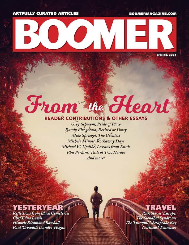 Boomer magazine Spring 2021 digital edition cover