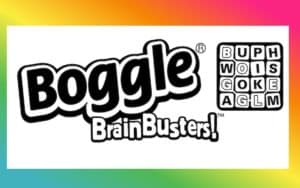 Boomer Brain Game Boggle BrainBusters Image
