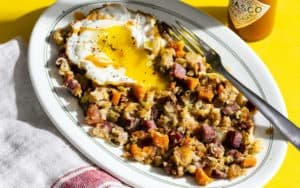 Recipe: Corned Beef and Cabbage Hash Image