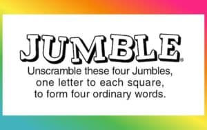 Jumble puzzle feature image Image
