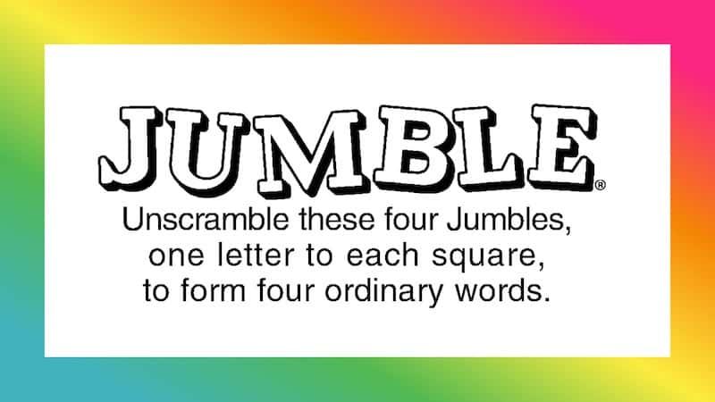 Jumble puzzle feature image