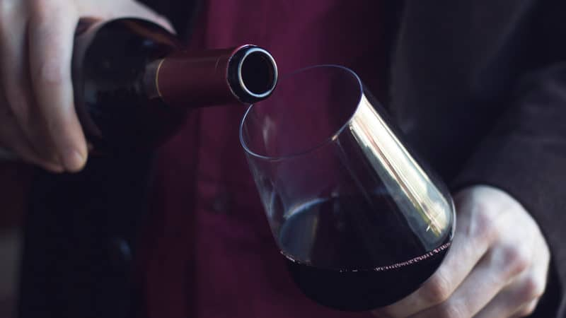 Red wine leading to weight problem Image