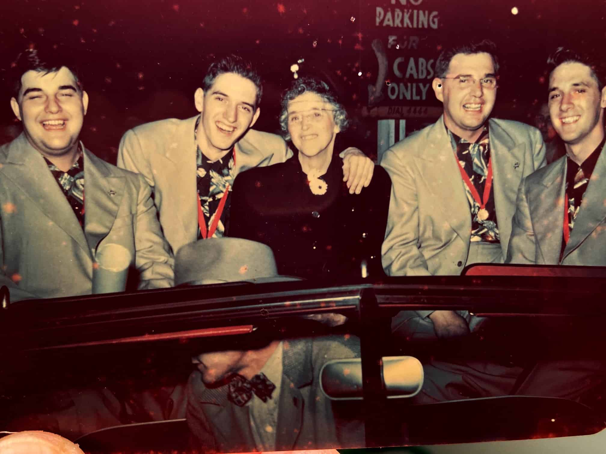 The Schmitt brothers' homecoming in 1951