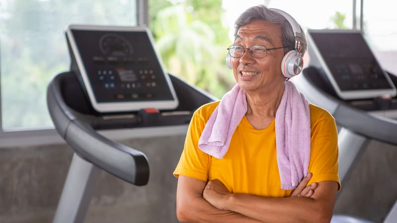 Add variety to your cardio routine like this man