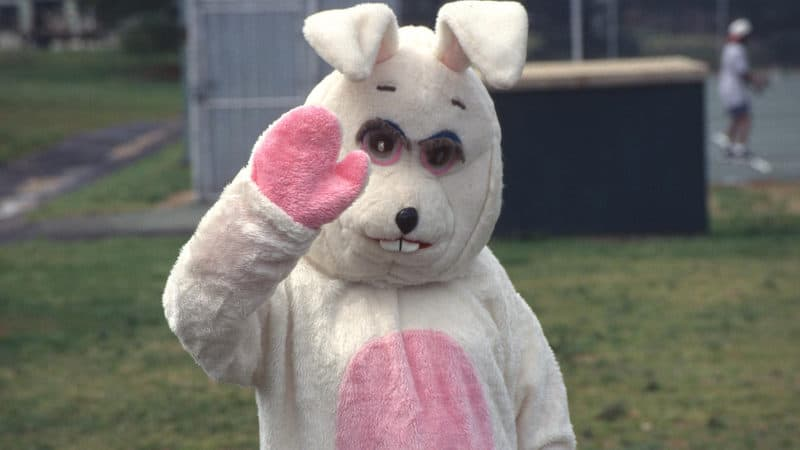 Love letters from a creepy Easter Bunny Image