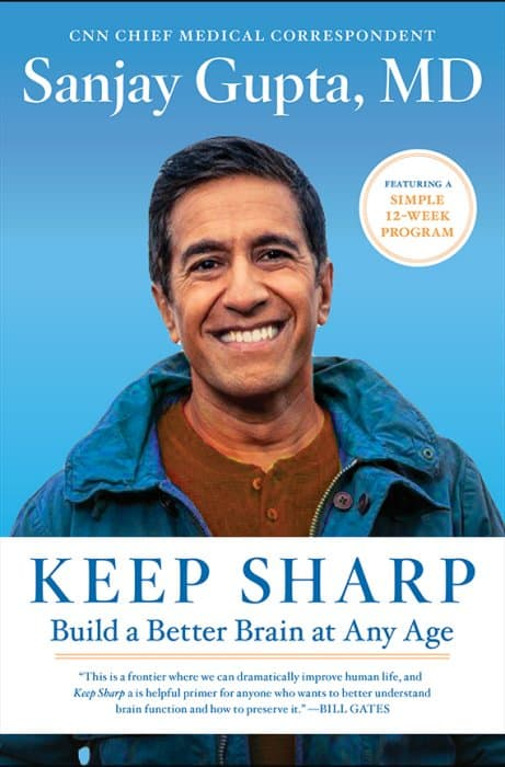 Keep Sharp book cover for keep your brain healthy