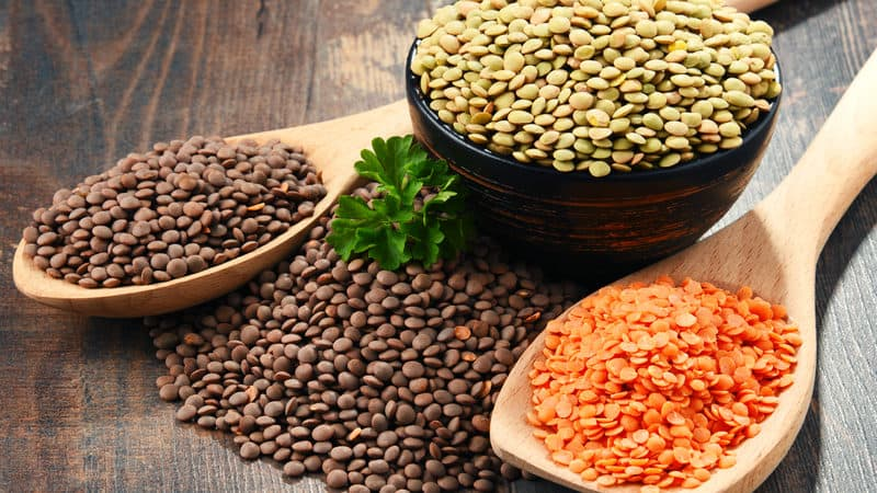 The benefits of lentils are bountiful! Image