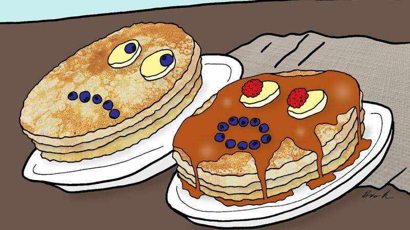 Pancakes caption contest Image