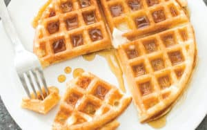 Overnight waffles Image
