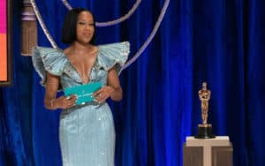In Regina King during the 93rd Annual Academy Awards on April 25, 2021 - The 2021 Oscars and the future of movies Image