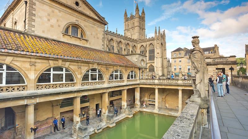 Bath's ancient Roman baths, now a museum. Photo by Dominic Arizona Bonuccelli, Rick Steves' Europe. Highlights of Bath, England Image