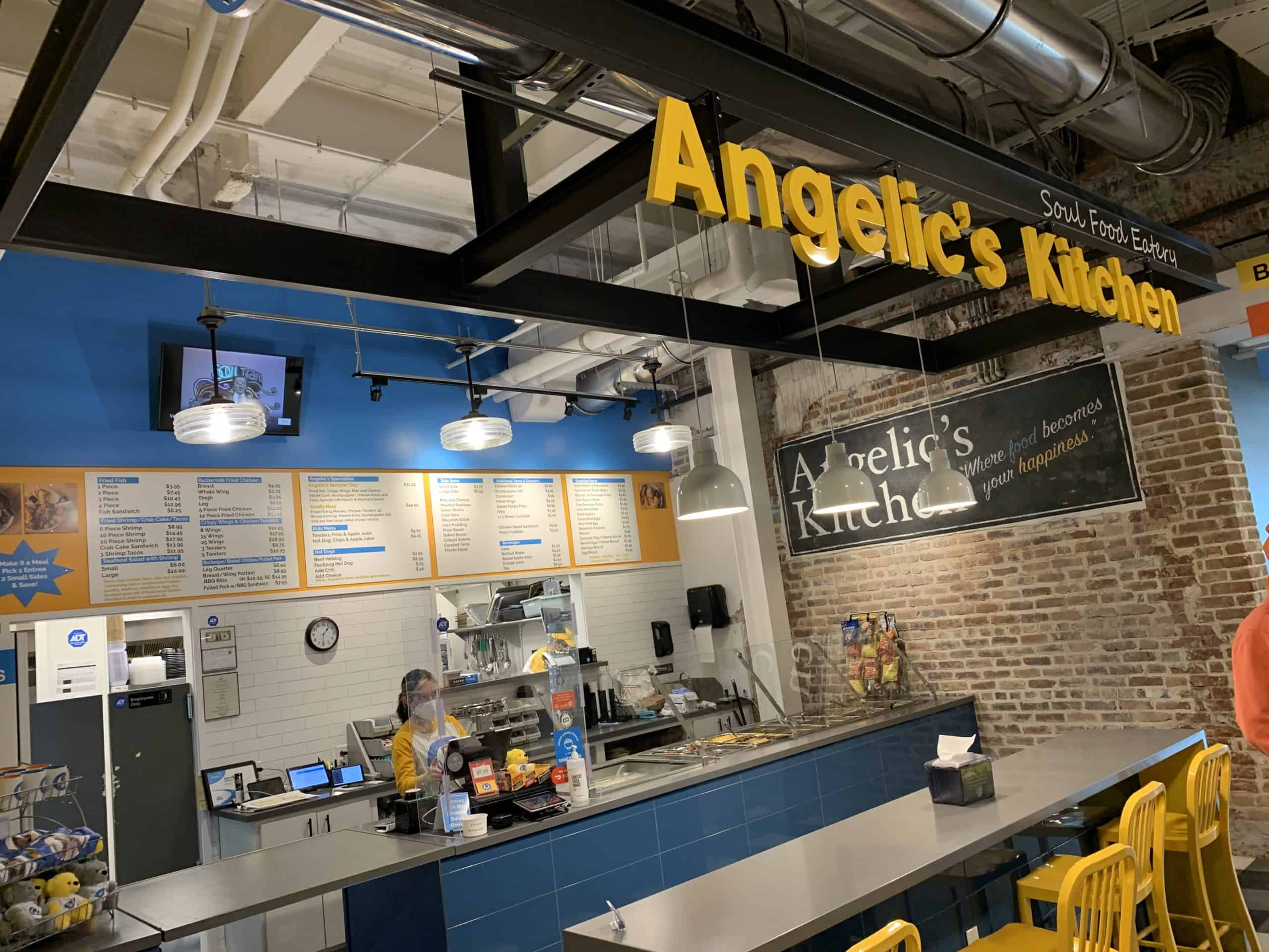 Angelic's Kitchen at the Dairy Market