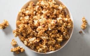 Caramel popcorn recipe Image