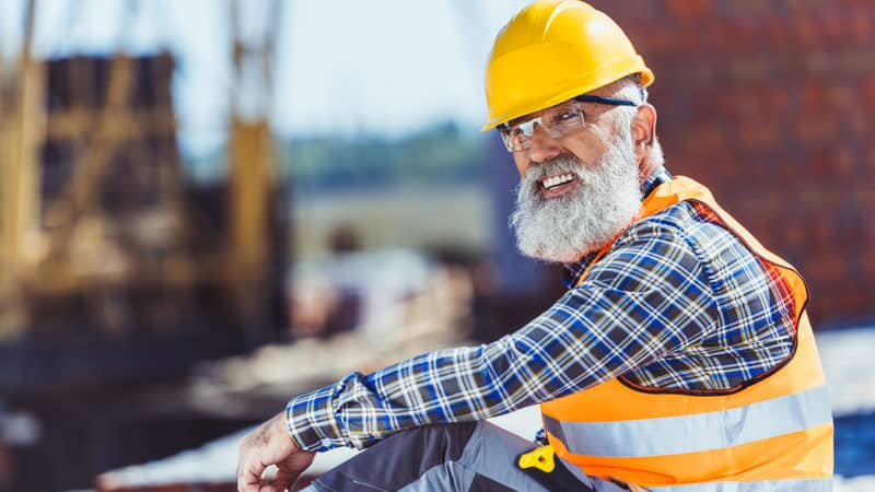 Handsome construction crush Image