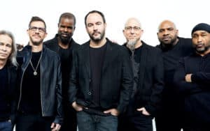 The Dave Matthews Band, 2020, photo by Danny Clinch. For article on Grammy Museum Dave Matthews Band exhibit Image