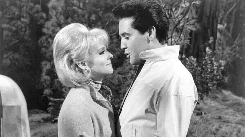 Diane McBain with Elvis Presley in 1966 Image