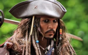 Johnny Depp as Captain Jack Sparrow Image