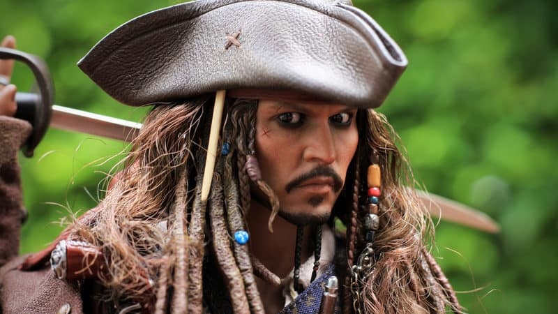 Johnny Depp as Captain Jack Sparrow Image