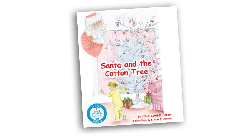 Book cover for Santa and the Cotton Tree review Image