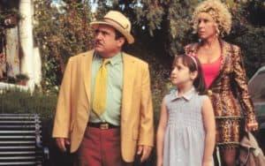 Danny DeVito, Mara Wilson, and Rhea Perlman, in Matilda - TriStar Pictures (for Whatever happened to Matilda Mara Wilson) Image