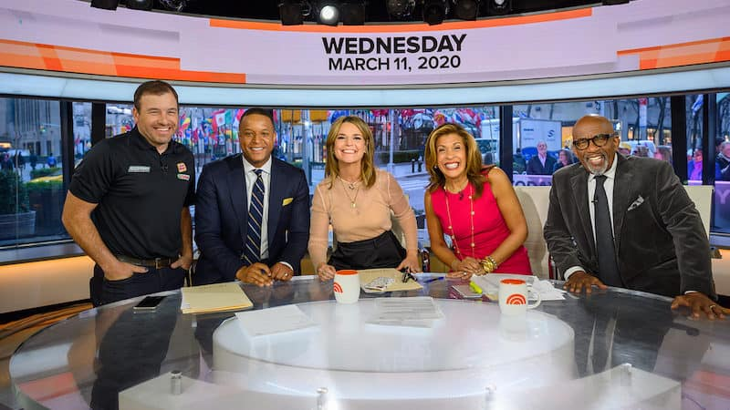 Cast of the 'Today' show on set for: TV Programming Changes at NBC Today show Image