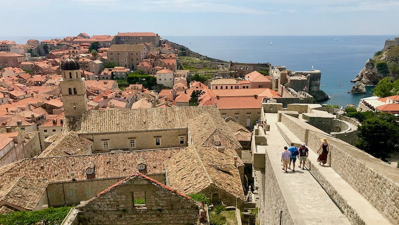 Dubrovnik's walls reflect survival and resilience Image