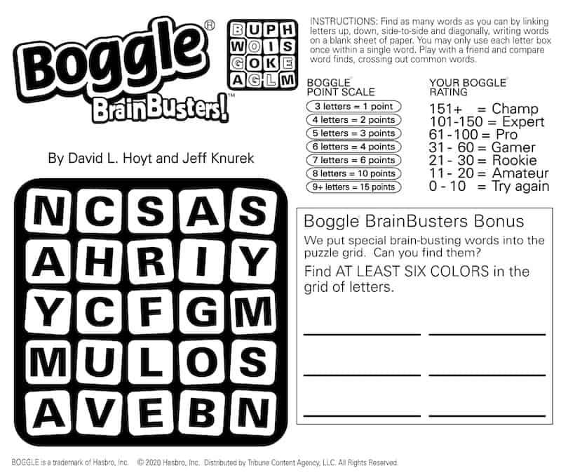 Boggle BrainBuster and Builder