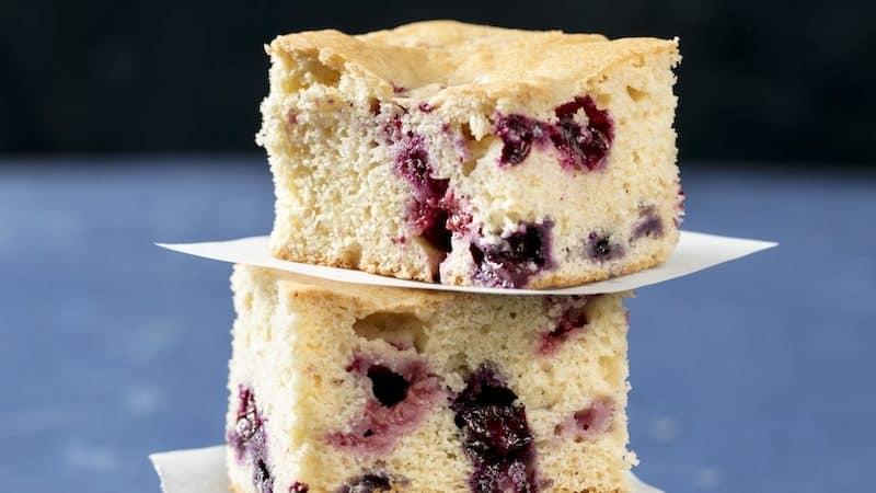 Berry snack cake yum Image