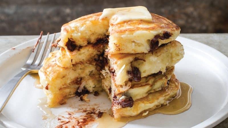 Blueberry pancakes recipe Image