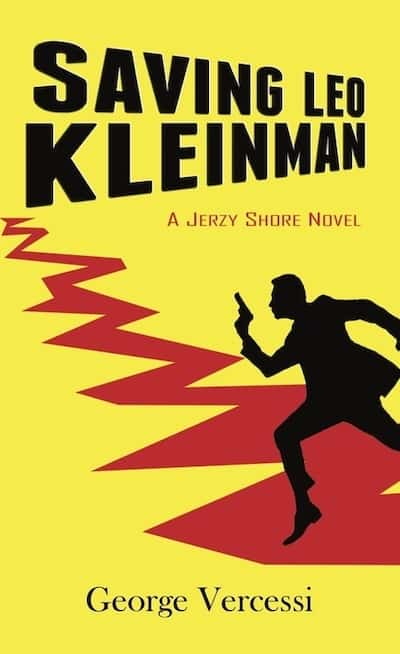 Cover of Saving Leo Kleinman by George Vercessi for Starting Again as a Writer