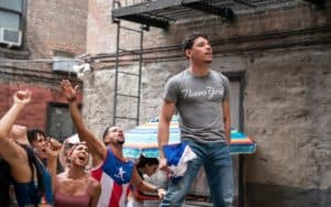 """Anthony Ramos stars in """"In the Heights,"""" the big-screen adaptation of Lin-Manuel Miranda's hit Broadway musical. CREDIT: TNS. For article, 'In the Heights' opening number took months to cut Image"""