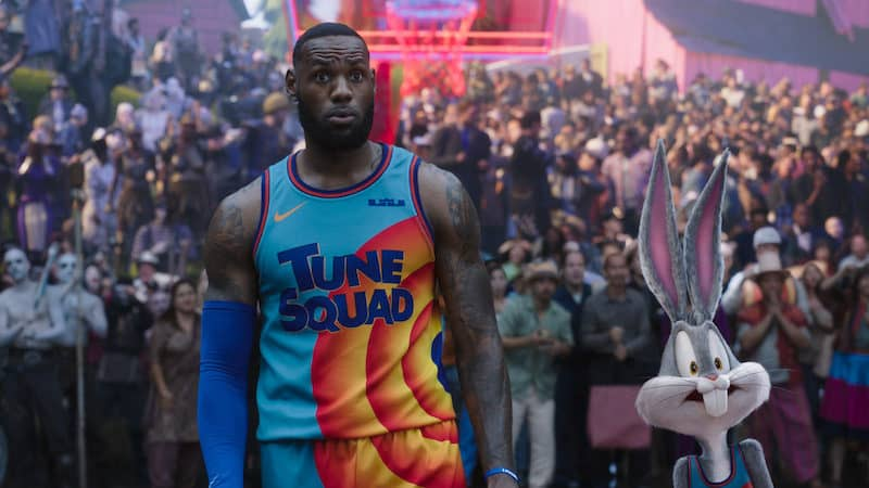"""LeBron James with Bugs Bunny in """"Space Jam: A New Legacy."""" CREDIT: Courtesy of Warner Bros. Pictures/TNS). Jeff Bergman on 'Space Jam: A New Legacy' Image"""