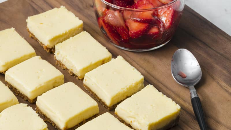 Cheesecake bars Image
