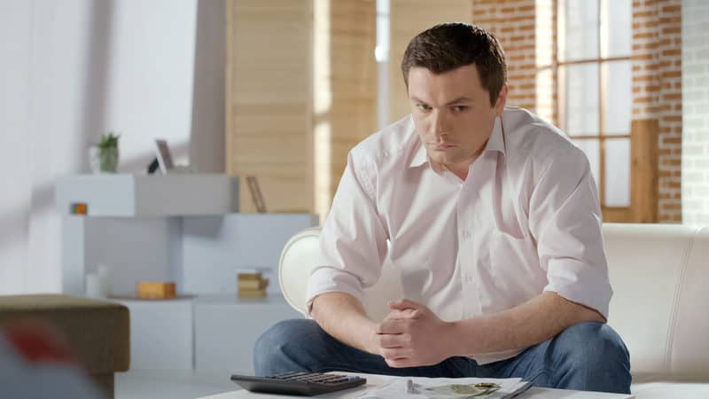 Man conflicted about whether or not to offer compassion for his gross relative Image