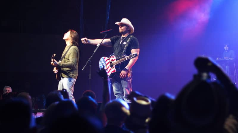 Toby Keith concert Maggie Walker might have been there too Image