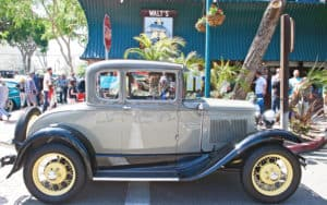 classic automobile, credit: philippilosian dreamstime - for article: ship your classic car Image