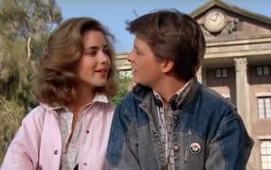 1. Claudia Wells and Michael J Fox in 1985's Back to the Future - Universal Pictures. For article on