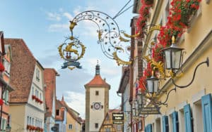 Well-preserved Rothenburg welcomes visitors. CREDIT: Dominic Arizona Bonuccelli, Rick Steves' Europe. Cultural connections at Rothenburg in Germany Image