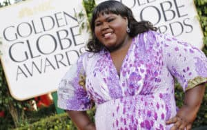 Gabourey Sidibe arrives at the 68th Annual Golden Globe Awards on Sunday, January 16, 2011, at the Beverly Hilton Hotel in Beverly Hills, California. (Jay L. Clendenin/Los Angeles Times/MCT). For: Paranormal Comedy Podcast with Gabourey Sidibe Image