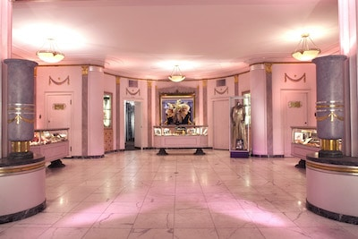 The Hollywood Museum lobby - provided by the Hollywood Museum