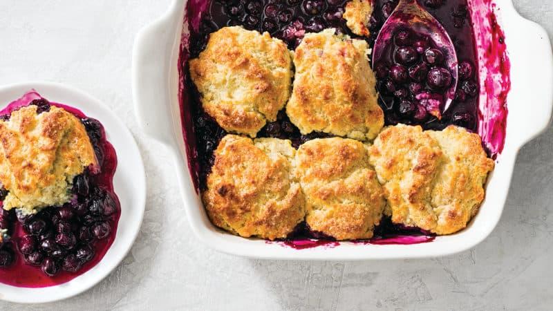 Blueberry cobbler Image