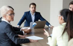 Community board meeting Image