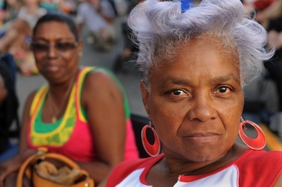 Columbia Pike Blues Festival, 2012. Photograph by Lloyd Wolf