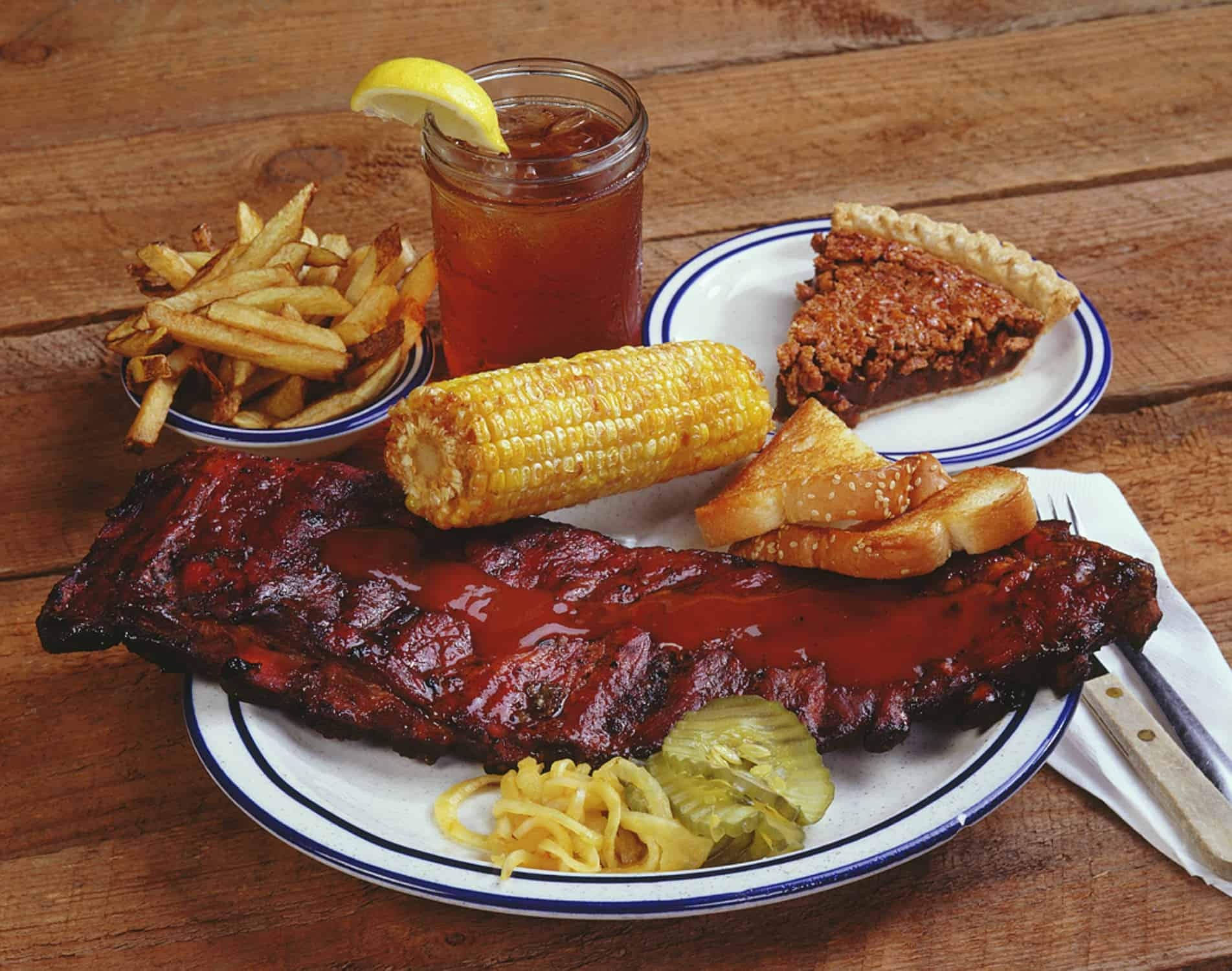 Country's barbecue at Columbus Georgia