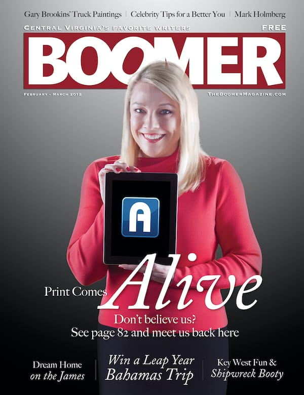 Cover of Boomer magazine February March 2012