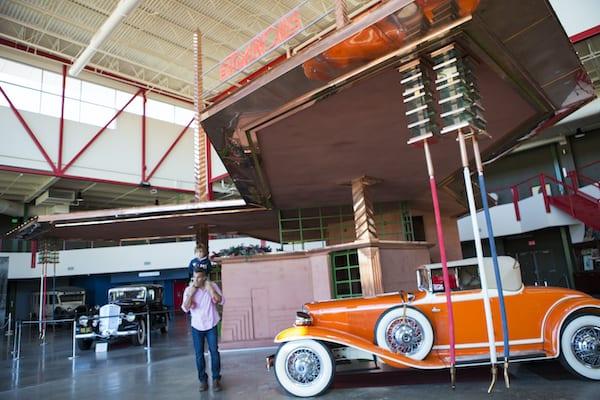 Frank Lloyd Wright-designed filling station