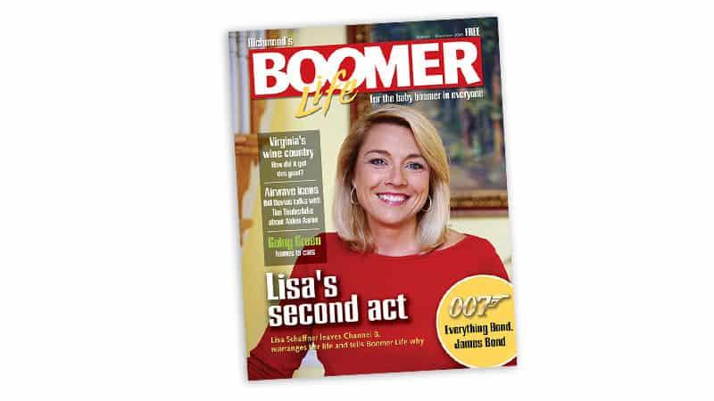 Remembering Lisa Schaffner and Her Spirit of Giving Back. The October-November cover of Boomer magazine Image