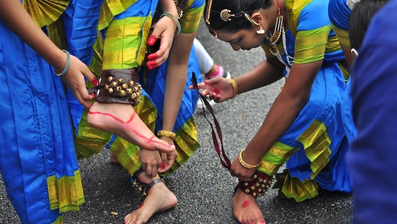 Prio Bangla Festival, 2014. Photograph by Dewey Tron. For article on exhibition, Columbia Pike: Through the Lens of Community Image